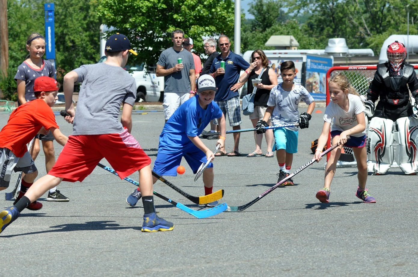 Street Hockey, Music, Burgers & Dogs – What Could be Better?