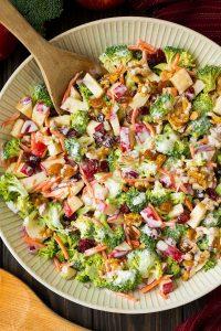 Broccoli apple salad Fall event
