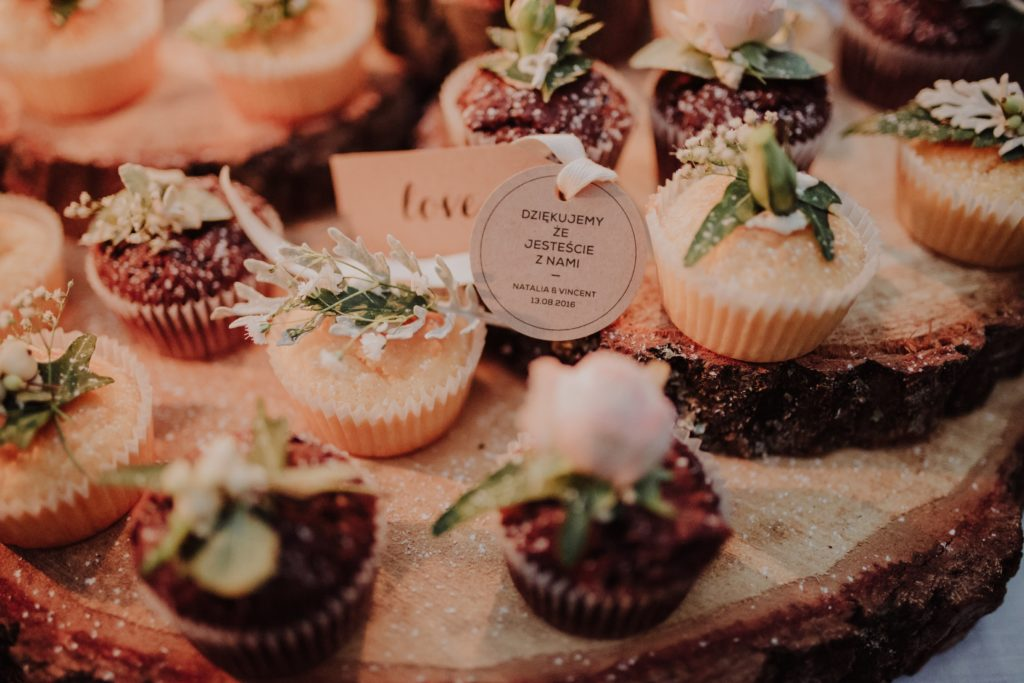 beautiful rustic cupcakes
